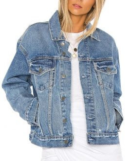 New style customized color women's wholesale denim jackets