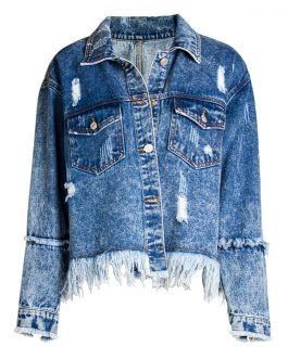 100% Export Quality Womens Clothing Denim Jacket Wholesale From Bangladesh