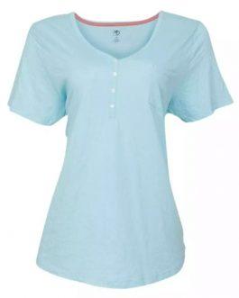 Wholesale Clothing Custom T-shirt Printing Design Black V Neck T Shirt Women