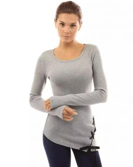 long sleeve t shirt 100% High Quality New Design O'Neck women's long sleeve t-shirt
