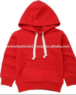 New designs New Fashion & Stylish 100% cotton quality fabric O'Neck Long Sleeve Kid's Hoodie Collection