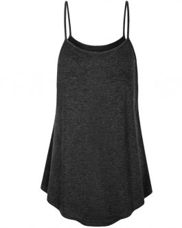 Wholesale sexy Women Summer chiffon blouse Sleeveless Floral V-neck tank top Casual lady straps camis with buttons S-3XL