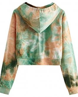 Amazon whosale ODM&OEM high quality hot sale tie dye hoodies for women fashion oversize zipper women's hoodies