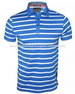 Wholesale Trend Short Sleeve Latest New Design Poloshirt Customized For Men