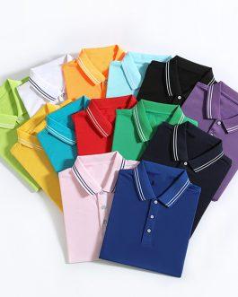 Men Personal Neck Golf Collar Casual Stylish Elastane Original Short Sleeve Verified Men's Polo t-shirts