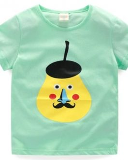 Comfortable Material Good Price Summer Best Selling Products Baby Boy Cotton Fabric T Shirt
