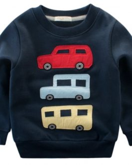 Autumn Pullover Sweatshirt Long Sleeve Boys Baby Kids High Quantity Pullover Cotton Clothing