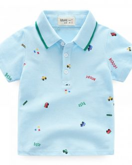 2019 Wholesale and Comfortable baby boys polo shirt Cotton Baby Clothing baby Boys T shirt cotton t shirt