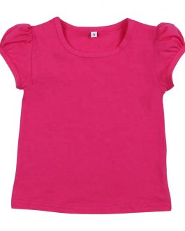 Casual Girls Summer Tee Shirts Tops Cup Sleeve Baby Girls Cute T-shirt Collection