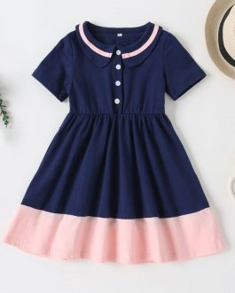 Girls Casual Cotton Short Sleeve Polo Shirt Collection