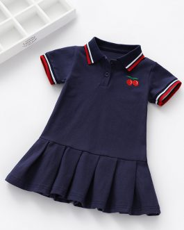 Girls Solid Short Sleeve Polo Shirt Collection