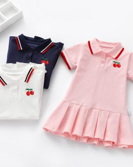 New Stylish Girls Solid Short Sleeve Polo Shirt Collection