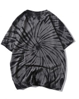 Men 100% Cotton Tie Dye T Shirts