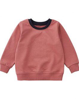 Custom Print Baby Boys Solid Blank Sweatshirt for Boys and Girls Collection