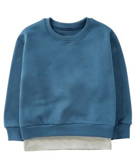 New Solid Kids Clothes Long Sleeve Baby Boy Sweatshirts Collection
