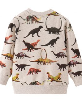 Kids New All Over Print Clothes Long Sleeve Boys Sweatshirts Collection
