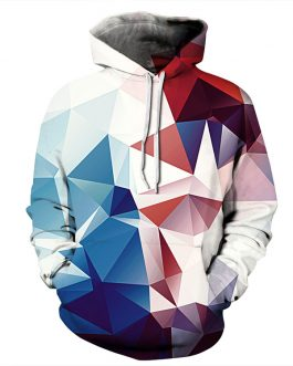 Dimond Crystal Printing Men's Casual Hoodies Hot Selling In Market Polyester And Spandex