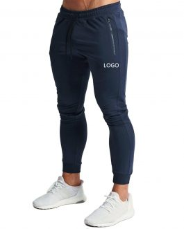 Men Fitness Sports Casual Clothing Pants Solid Color Hip Hop Gym Wear Trousers