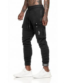 Mens Joggers Casual Pants Fitness Men Sportswear Tracksuit Bottoms Skinny Sweatpants Trousers Black Gyms Jogger Track Pants Collection