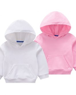 Children Boy Plain Custom Print Hoodies Kids Zipper Hoodies Collection