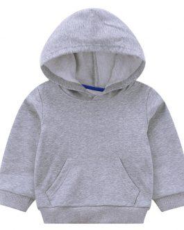 Custom Print Children Plain Hoodies For Kids Collection