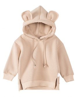 Bear Ears Animal Hoodies Cute Boys Casual Pullover Collection