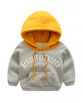 Children Casual Pullover Boys Custom Print Hoodies Collection
