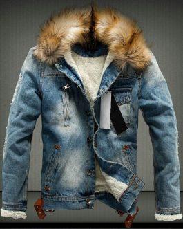 Couple Models Korean Design Good Quality Men Jean Jacket Collection