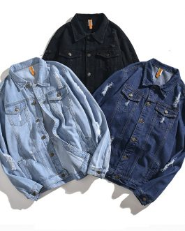 Mens Full Sleeve High Quality Custom Design Denim Jackets Collection
