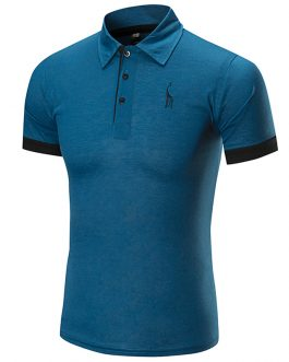 Casual Stylish Elastane Original Short Sleeve Verified Men's Polo t-shirts