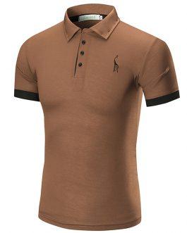 Branded Customize Logo Stylish Elastane Short Sleeve Men's Polo t-shirts