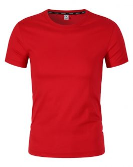 Goods Quality 100% cotton ,65% cotton 35% polyester and 100% polyester men's tshirt