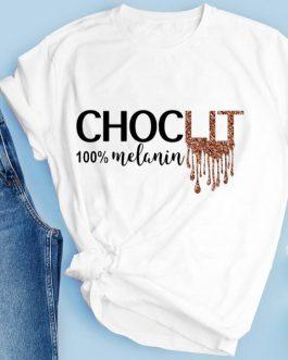 Short Sleeve Women Casual Wear Print Custom Design T Shirt Collection