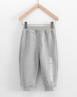Boy Cotton Trousers Children Spring And Autumn Wear Corduroy Trousers Children Sports Pants