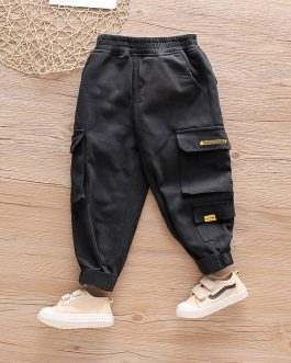 Fit Streetwear Kids Boys Joggers Hip Hop High Street Leisure Trousers Collection
