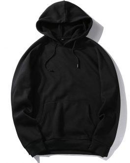 Casual Street Style Custom Oversized Mens Hoodies Blank Plain Winter Jumper Men's Sweatshirt Pullover Hoodies