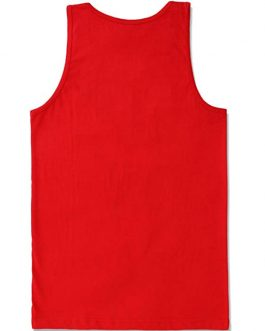 Solid Plain Custom Logo Gym Fitness Mens Tank Top Collection