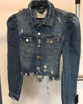 Ladies Hip Hop Crop Long Sleeve Women Denim Jacket Collection