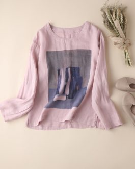 New Casual Women's Long Sleeve Printed T-Shirt Collection